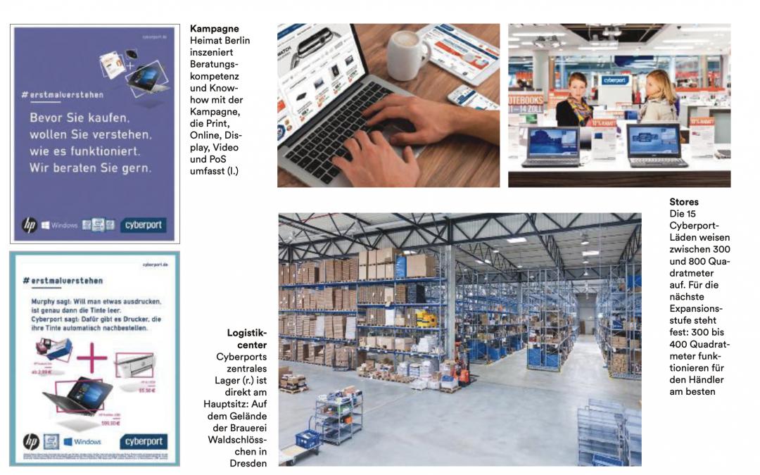 cyberport 2bc in wuv | Marketing im Mittelstand |Einfach einfach.